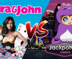 ベラジョンカジノとジャックポットシティカジノの比較